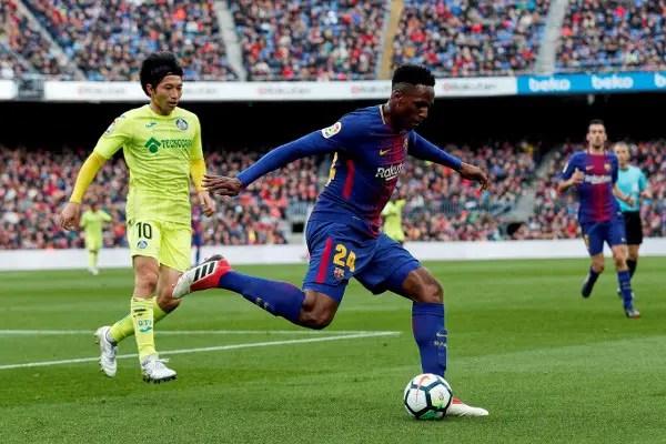 Stubborn Getafe Hold Barcelona At Camp Nou