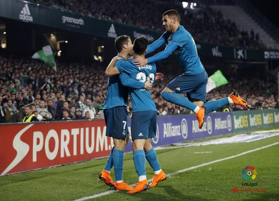 Real Madrid Edge Real Betis In LaLiga Thriller