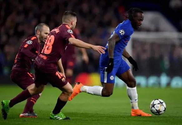 UCL: Moses Shines As Messi Breaks Chelsea Goal Jinx; Bayern Destroy Besiktas