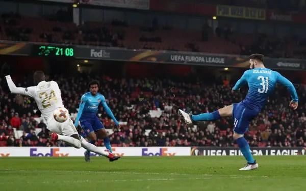 Europa: Iwobi Injured, Gero Benched As Arsenal Scrape Past Ostersunds; Milan, Dortmund Advance