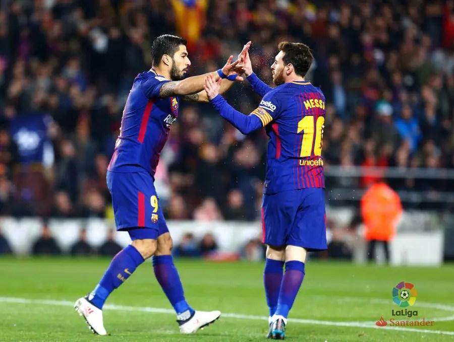 Suarez Hat-trick, Messi Brace Lead Barca To Big Win Over Girona