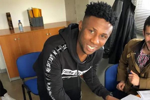 Imoh Ezekiel Joins Etebo, Emenike At Las Palmas