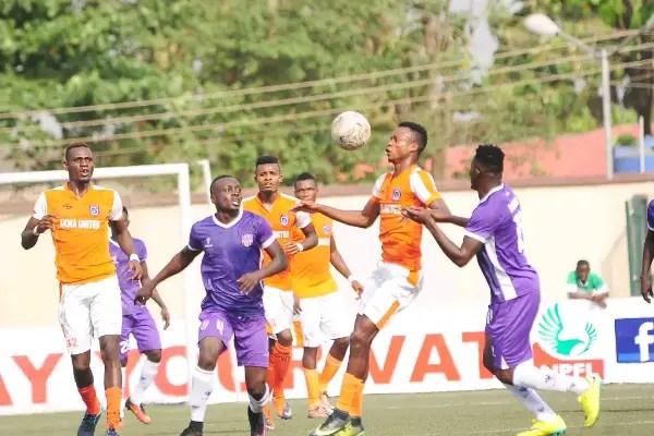 NPFL: MFM Edge Out Akwa United In Lagos
