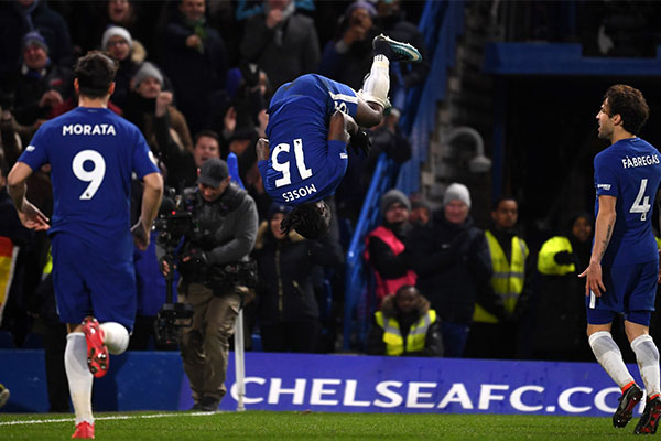 Moses Chases First FA Cup Goal In Two Years, Kayode Eyes First 2018 LaLiga Start