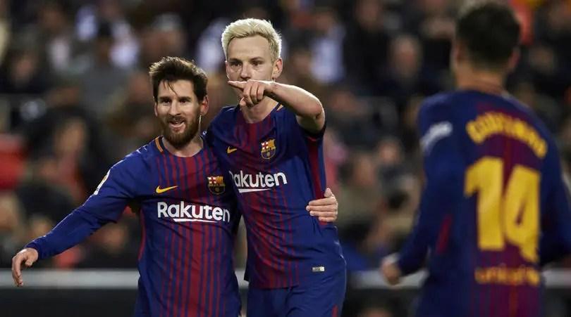 Barcelona's Rakitic, Sevilla President Differ On Copa Del Rey Final Venue