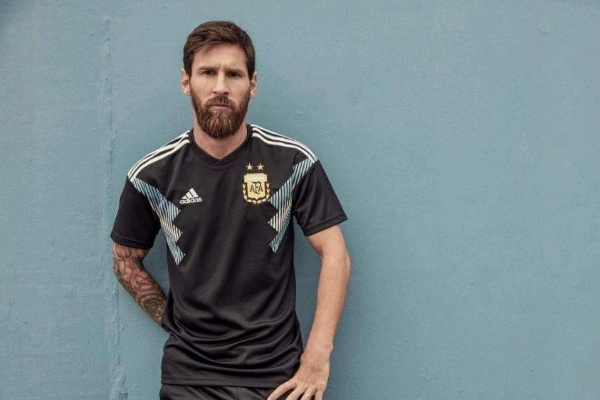 Argentina Launch 2018 World Cup Away Kit