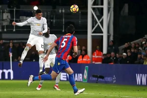 Man United Claim Dramatic Comeback Win Over Crystal Palace