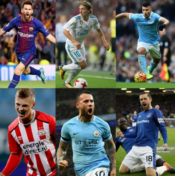 6 Super Eagles World Cup Group Foes' Stars Shining For European Clubs  