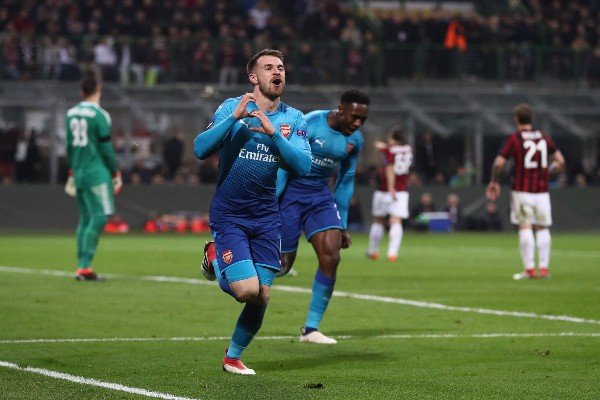 Europa: Iwobi Benched As Arsenal Stun Milan, Musa's CSKA Moscow Lose; Costa Inspires Atletico Win