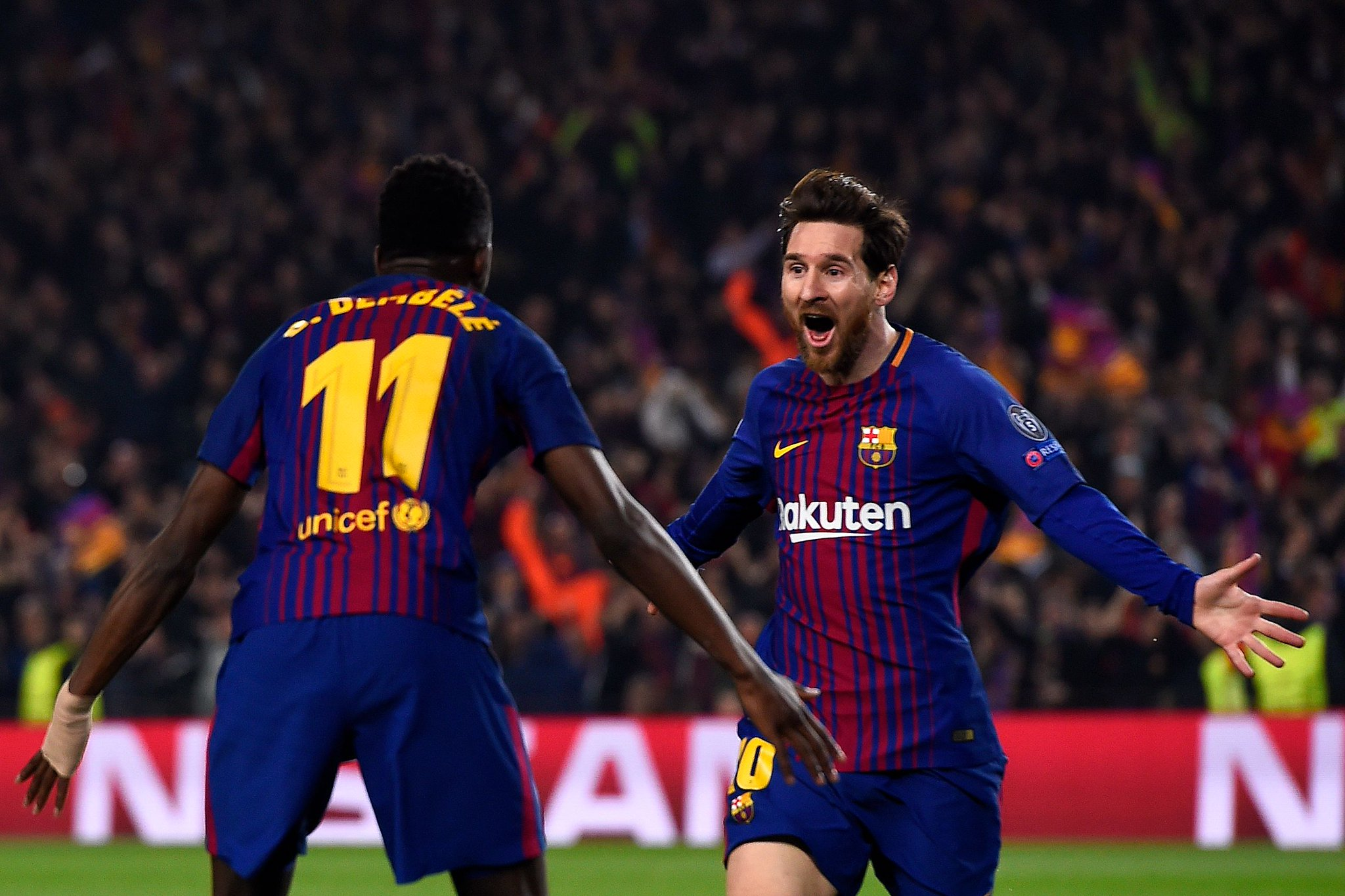 UCL: Moses Crashes With Chelsea As New Dad Messi Hits Landmark Goal
