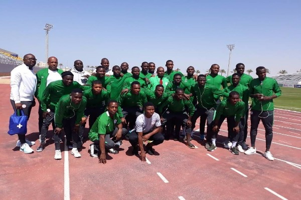 Flying Eagles Land In Alexandria For Egypt Friendlies