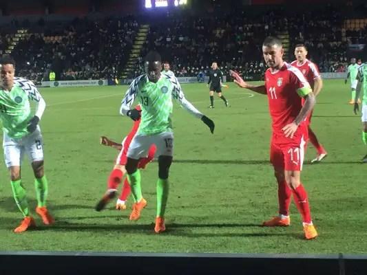 "Lawal: Poland, Serbia Friendlies ""Fantastic"" Experience For Super Eagles"