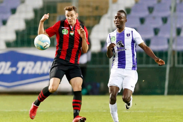 Ex-Flying Eagles Forward Nwobodo Scores, Shines In New Role For Hungarian Club Ujpest