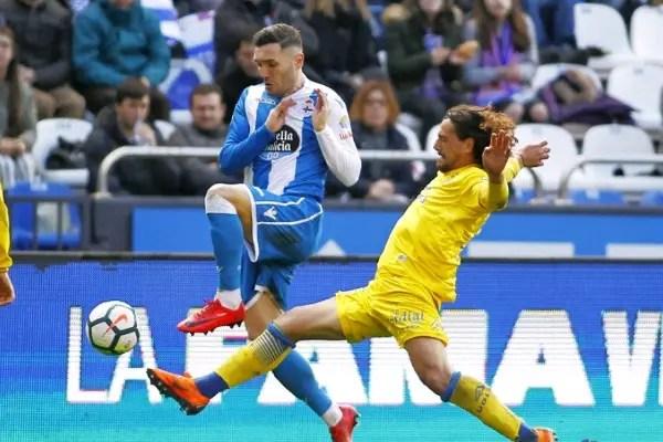 Etebo Missing, Ezekiel Benched As Las Palmas, Deportivo Draw