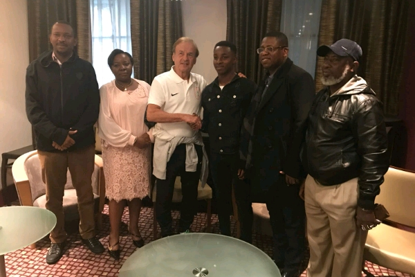 Man United Midfielder Kehinde Eyes World Cup Spot After Meeting Rohr