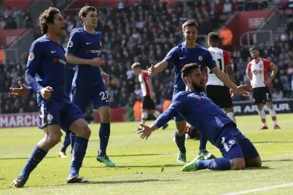 "Conte Hails Chelsea ""Spirit"", ""Passion"" Vs Southampton; Praises Giroud"