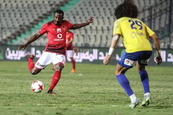 Ajayi Pleased To Score On Al Ahly Return