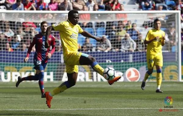 Etebo Returns, Ezekiel In Action As Las Palmas Lose Again