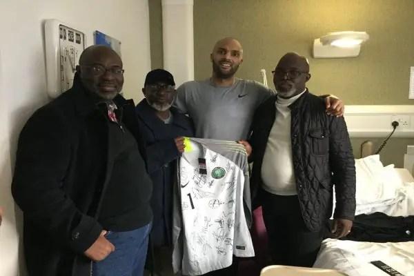 Akinwunmi: Ikeme Recovering Well, Anxious To Return To Football