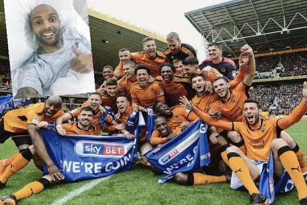 Ikeme Thumbs Up Wolves Teammates On EPL Promotion