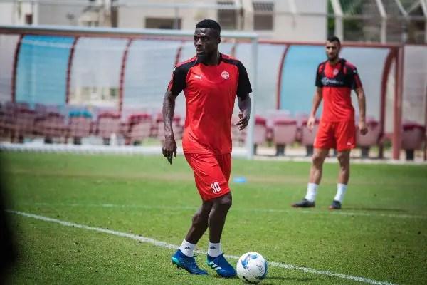 Goal Hero Ogu 'Proud' Of Hapoel Beer-Sheva After Israeli Play-Offs Draw