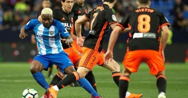 Etebo, Ezekiel Can't Prevent Las Palmas Defeat; Ideye Starts As Malaga Are Relegated