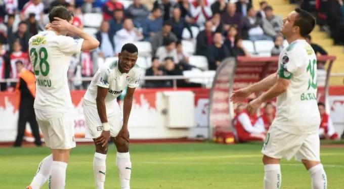 Abdullahi Pleased To See Bursaspor End Poor Run