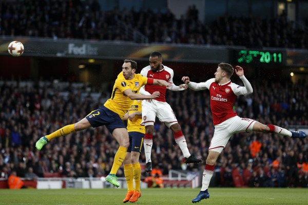 Europa League: Iwobi Benched As 10-Man Atletico Hold Arsenal