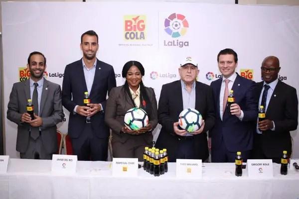 LaLiga Signs Regional Partnership Deal With Big Cola Nigeria