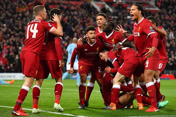 UCL: Liverpool Outclass Man City As Barca See Off Roma