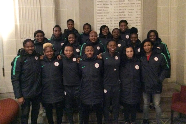 Super Falcons Full Squad Train In Le Mans For France Friendly