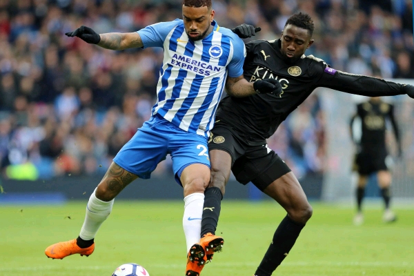 """""""Wasteful"""" Ndidi Rated Average In Leicester Win Vs Brighton"""