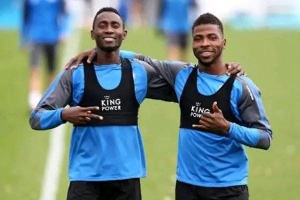 Iheanacho, Ndidi Up For Leicester City Season Awards