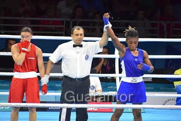 Gold Coast 2018: Odunuga Reaches Women's Boxing Semi-Finals