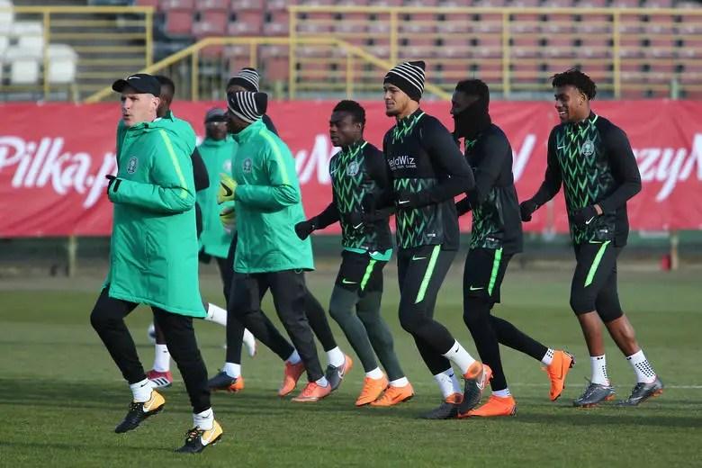 Musa, Abdullahi Join Super Eagles Camp In Uyo