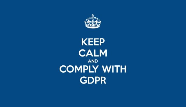 Stop Press, Or Press Stop? GDPR
