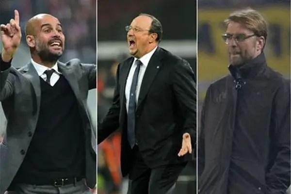 Guardiola, Klopp, Benitez, 3 Others Battle For EPL Manager Of The Season Award