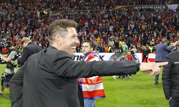 Simeone Hails 'Gritty Atletico Madrid' On Europa League Win