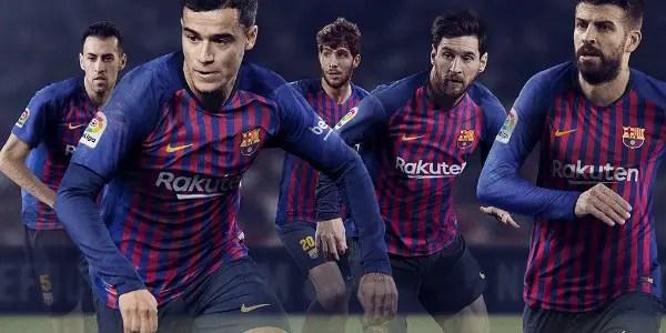 Barcelona Unveil New Home Kit For 2018/2019 Season