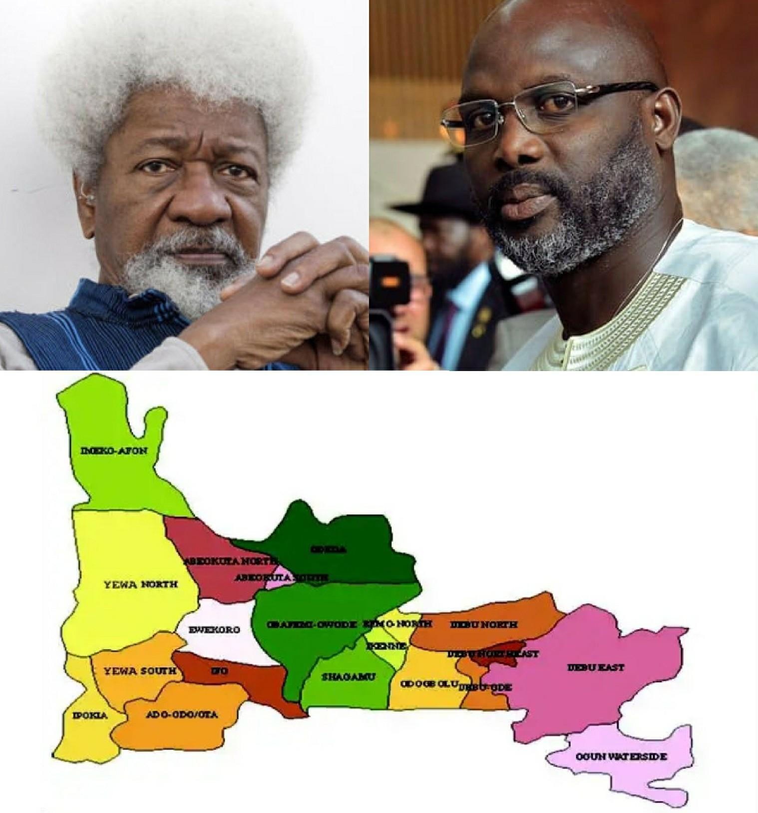 Odegbami: Sports, Politics, Profesor Wole Soyinka, George Weah And Ogun State!