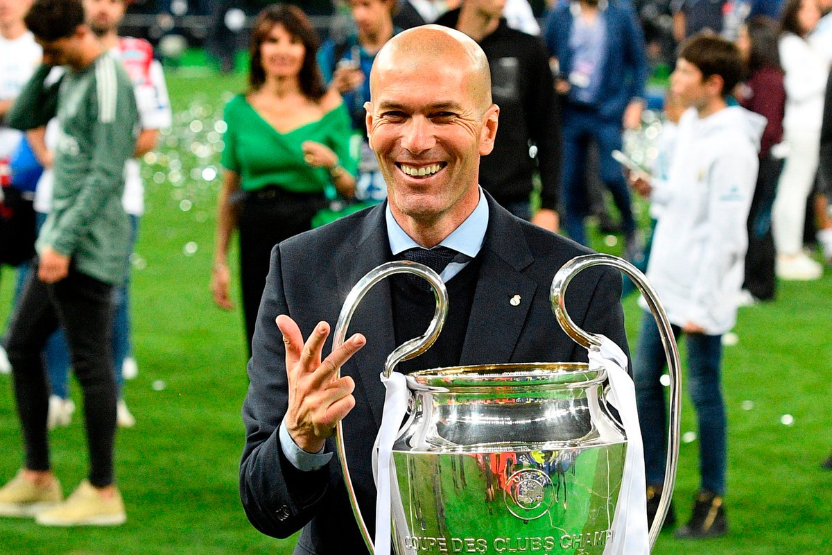 Shock As Zidane Quits As Real Madrid Manager