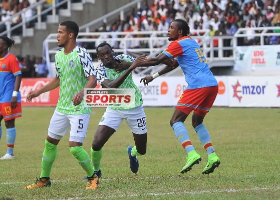 Rohr: I'm Satisfied With Simy's, Eagles' Performance Vs DR Congo; England Game Will Be Better