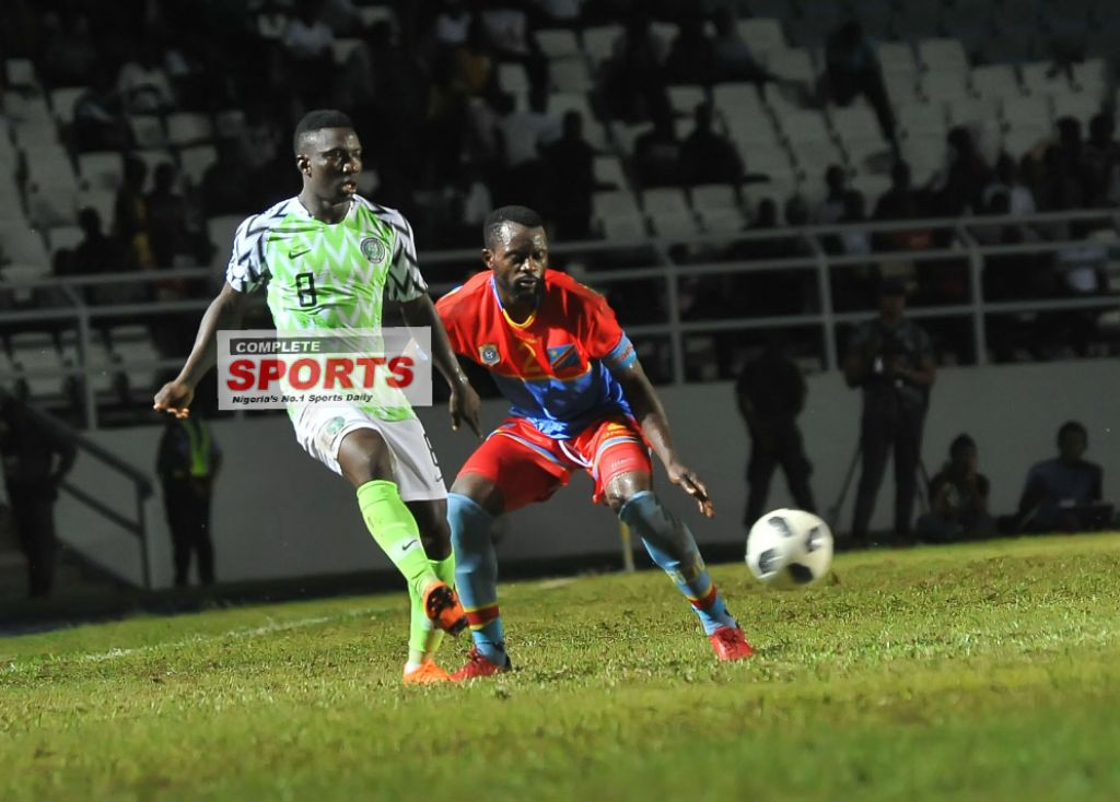 Etebo: Poor Pitch Affected Eagles' Showing Vs DR Congo, England Game Will Be Better