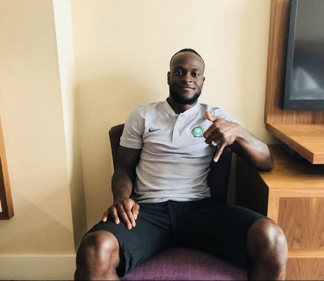 """Moses Happy To Join Super Eagles """"Boys"""" In London Camp"""