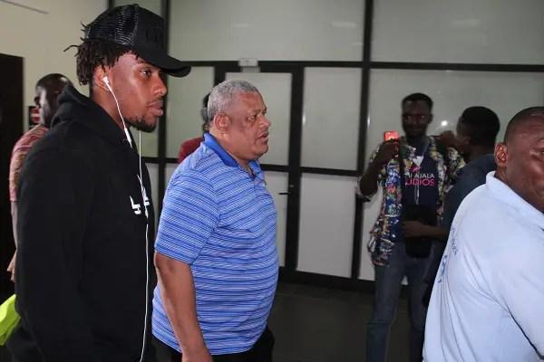 Iwobi Joins Onazi, Aina, Ekong In Uyo, Eagles To Train At 5pm