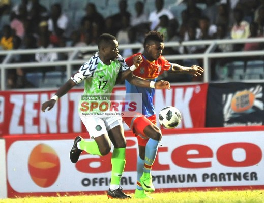 DR Congo FA Backs Super Eagles To Make Africa Proud In Russia
