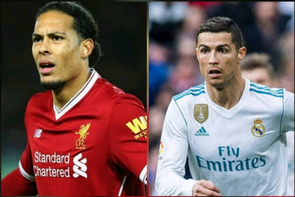 UCL Final: Liverpool Defender Van Dijk Vows To Stop Ronaldo From Shining