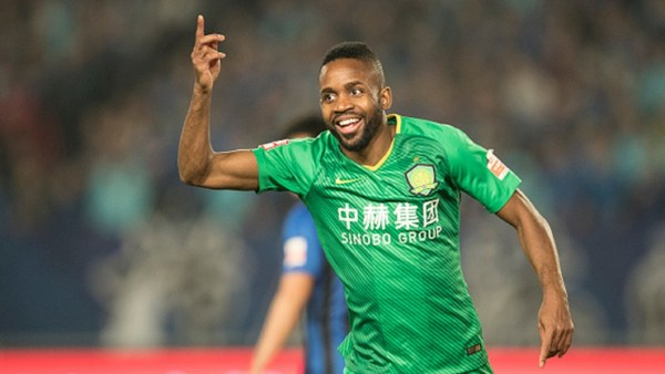 DR Congo Star Bakambu Outshines Ighalo In Chinese Super League Clash