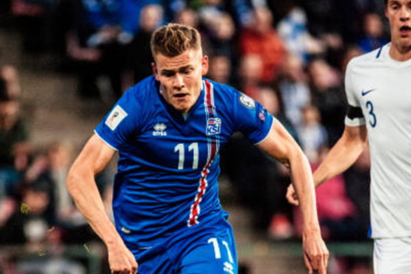 Iceland Striker Finnbogason: We Can Shock The World Like We Did At Euro 2016