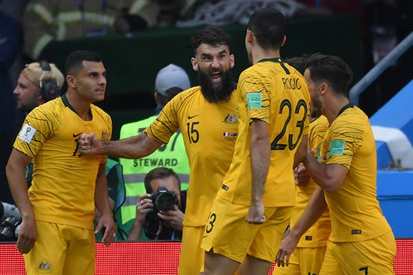 """Australia's Marwijk, Jedinak """"Disappointed"""" After Defeat To France"""